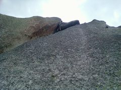 Rock Climbing Photo: Rob on Sombrero