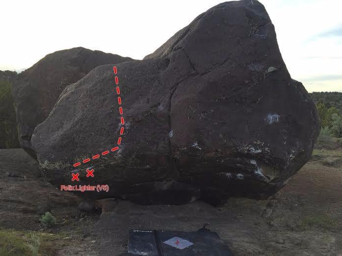Rock Climbing Photo: MI6 Boulder