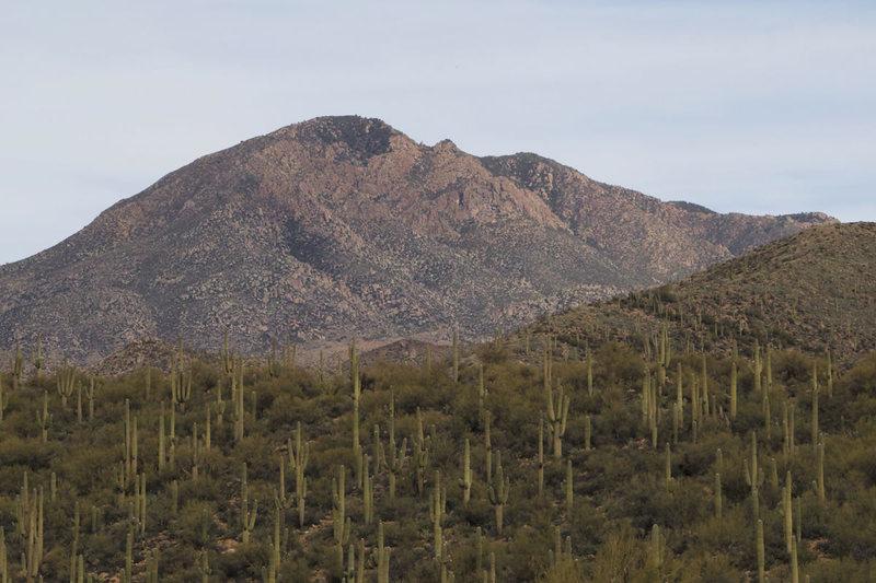 Rock Climbing Photo: BM from near Round Valley.