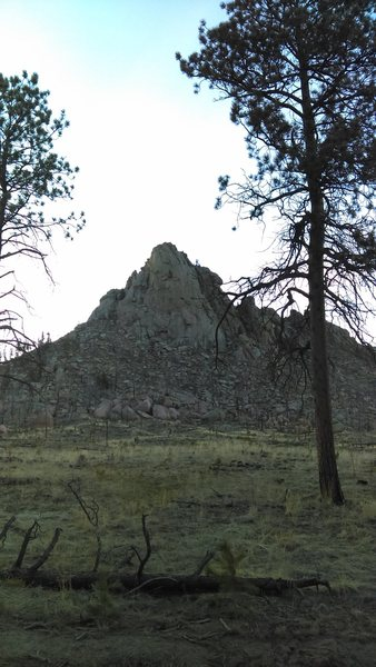 The south face.