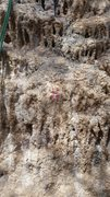 Rock Climbing Photo: Typical numbering scheme in the red sector.