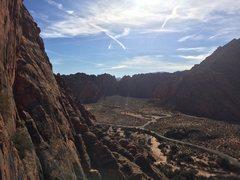 Rock Climbing Photo: Snow Canyon State Park