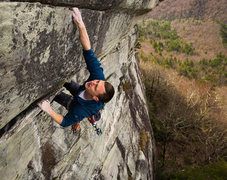 Rock Climbing Photo: No Free Lunch. Photo by Joe V.