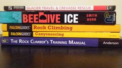 Rock Climbing Photo: books