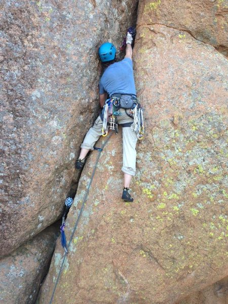 John working through the hard part of Karl Bird Crack.