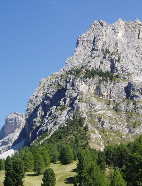 Rock Climbing Photo: North West Arete Torre Firenze - The skyline ridge