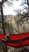 Black Hills,SD <br />Hammock Resting