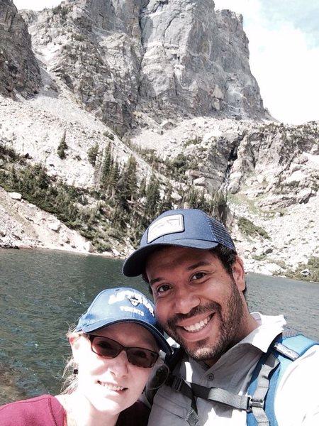 Rock Climbing Photo: Colorado RMNP