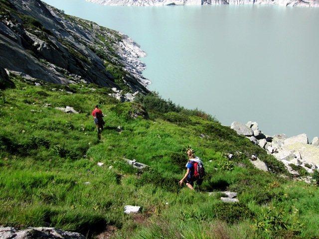 Rock Climbing Photo: Climbers' trail to Placche del Lago