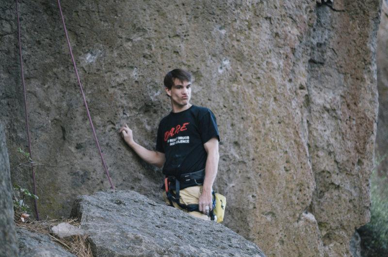 Rock Climbing Photo: test