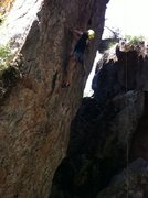 Rock Climbing Photo: Top Rope to learn.