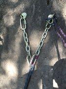 Rock Climbing Photo: The anchors!