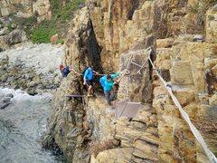 Rock Climbing Photo: The coastal approach