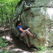 Rock Climbing Photo: Lovely. V2