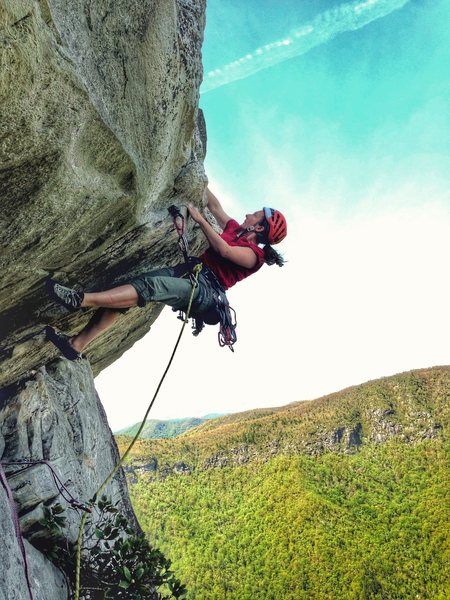 Rock Climbing Photo: Unseasonably warm weather made for a perfect Linvi...