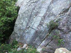 Rock Climbing Photo: The start.