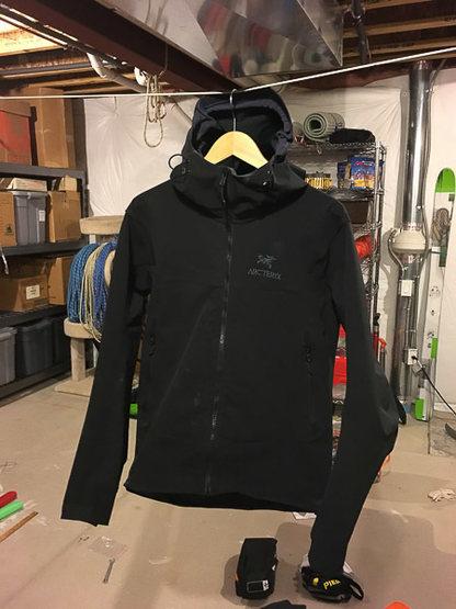 Arc'teryx Gamma LT hoody jacket