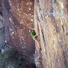 Another great day of climbing in the desert. Ixtlan 5.11c