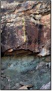 Rock Climbing Photo: Bring Up The Down problem beta.
