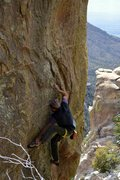 Rock Climbing Photo: Joe Kreidel making quick work of the powerful star...
