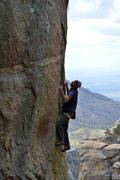 Rock Climbing Photo: Endless edging will test your forearm endurance.