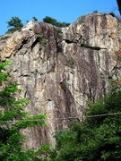 Rock Climbing Photo: Climbers high on Sirta