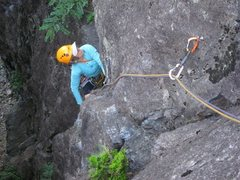 Rock Climbing Photo: First pitch of Bosca