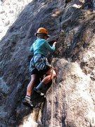 Rock Climbing Photo: Starting up Gianda