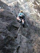 Rock Climbing Photo: Gettin' a lap on Gianda