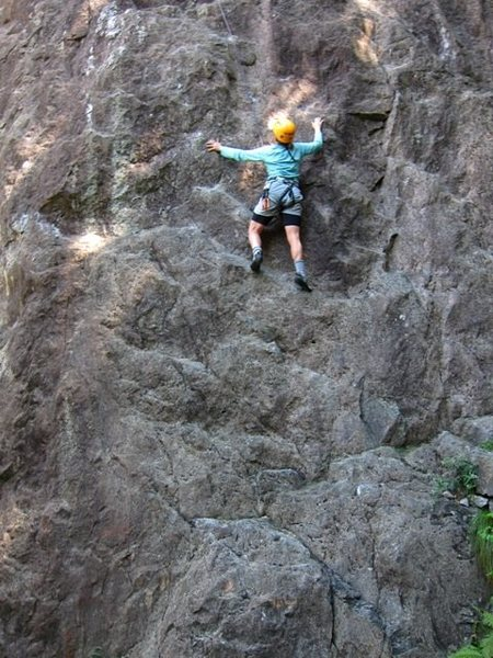 Rock Climbing Photo: Middle of Guata