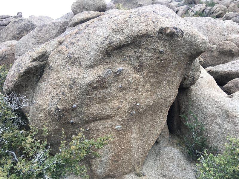 Rock Climbing Photo: Rainbow boulder