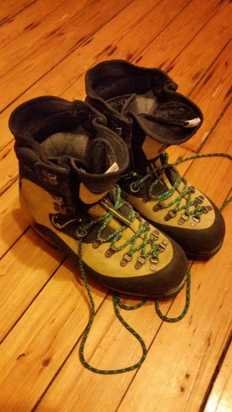 Rock Climbing Photo: Nepal Evo Boot