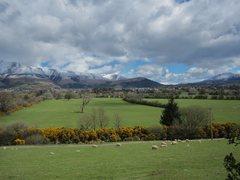 Rock Climbing Photo: Looking towards Keswick town Lake District.