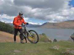 Rock Climbing Photo: Great biking in the Lake District both Mt and road