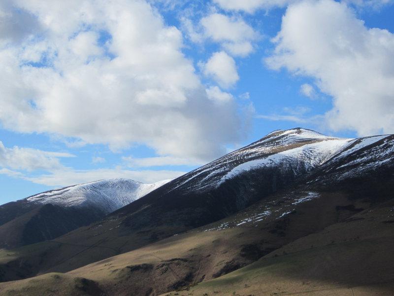 Skiddaw Mt from Latrigg Lake District