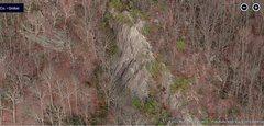 Rock Climbing Photo: Pohegnut cliff
