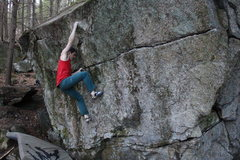 Rock Climbing Photo: Great moves on this one