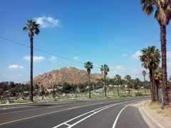 Rock Climbing Photo: Almost there, Mount Rubidoux