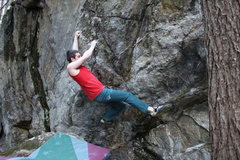Rock Climbing Photo: Another angle of sticking the gaston