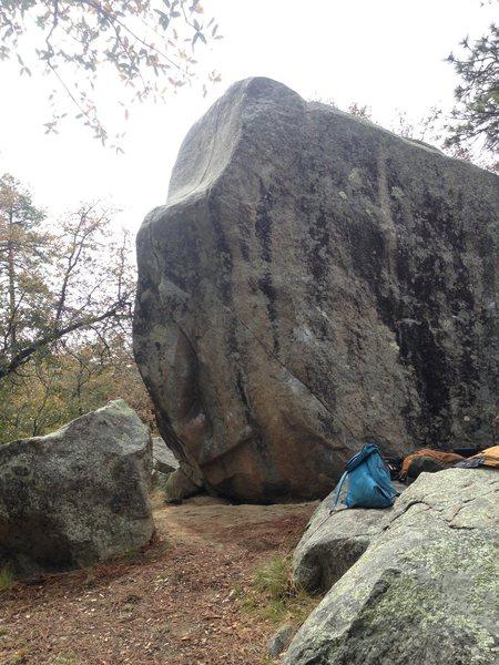 The boulder.