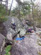 Rock Climbing Photo: Sweet problem with a no hassle landing!  Plus its ...