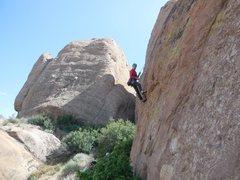 Rock Climbing Photo: Enjoying a day at the Waco Wall.