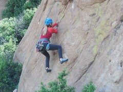 "Rock Climbing Photo: On ""This Ain't My First Rodeo."""