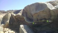 Rock Climbing Photo: Traverse