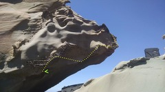 Rock Climbing Photo: Triceratops