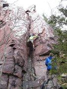Rock Climbing Photo: Donnie