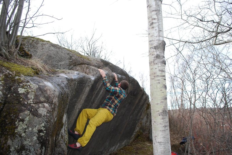 "Rock Climbing Photo: Zach Chase working ""perspective."""