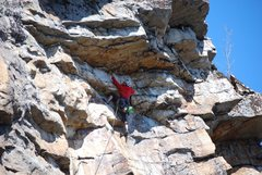 Rock Climbing Photo: Yellow Wall