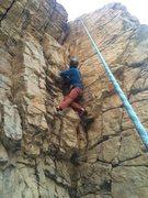 Rock Climbing Photo: right corner. a little short. a little greasy.