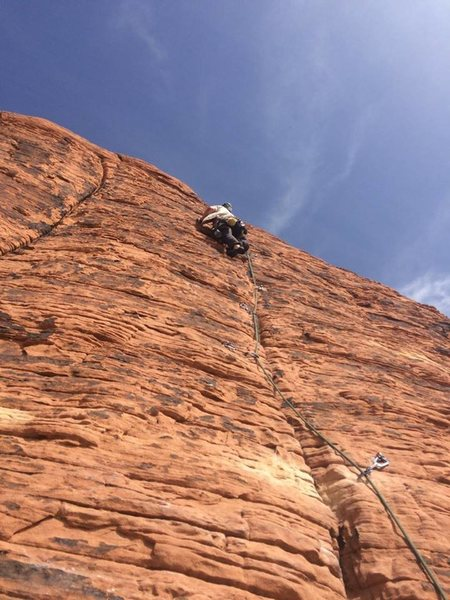 Rock Climbing Photo: Red Rock
